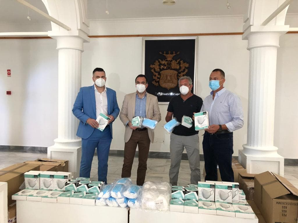 Temra International donated thousands of mace masks to local businesses